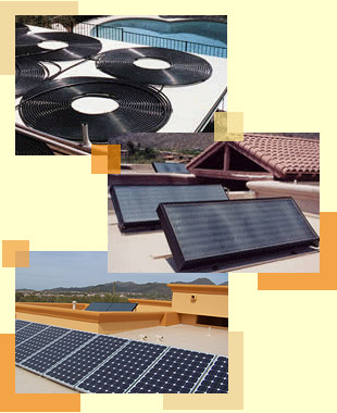 Tucson Solar Pool Heating and Electric Panels